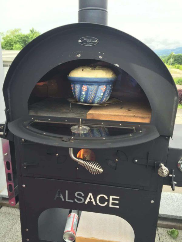 Barbecue Vulcano 3 Premium et lot d'accessoires Fours convertibles