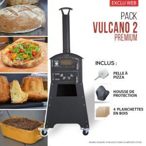 Brochette Vulcano 2 Premium et lot d'accessoires Fours d'extérieur